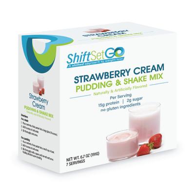 Strawberry Cream Pudding / Shake Mix