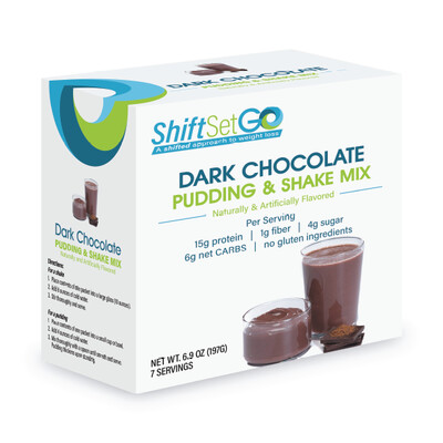 Dark Chocolate Pudding / Shake Mix