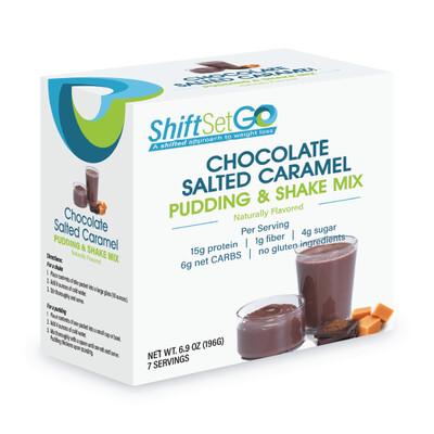 Chocolate Salted Caramel Pudding / Shake Mix