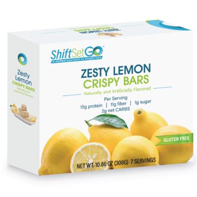 Zesty Lemon Crispy Bar