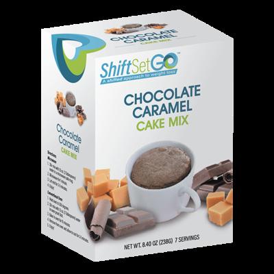 Chocolate Caramel Cake Mix