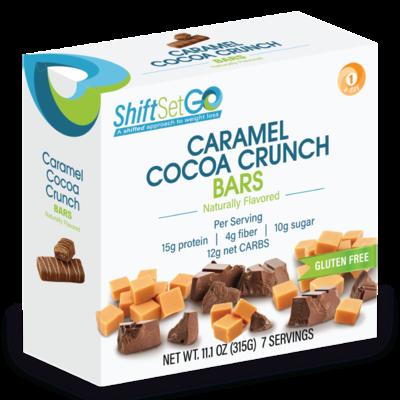 Caramel Cocoa Crunch Bar