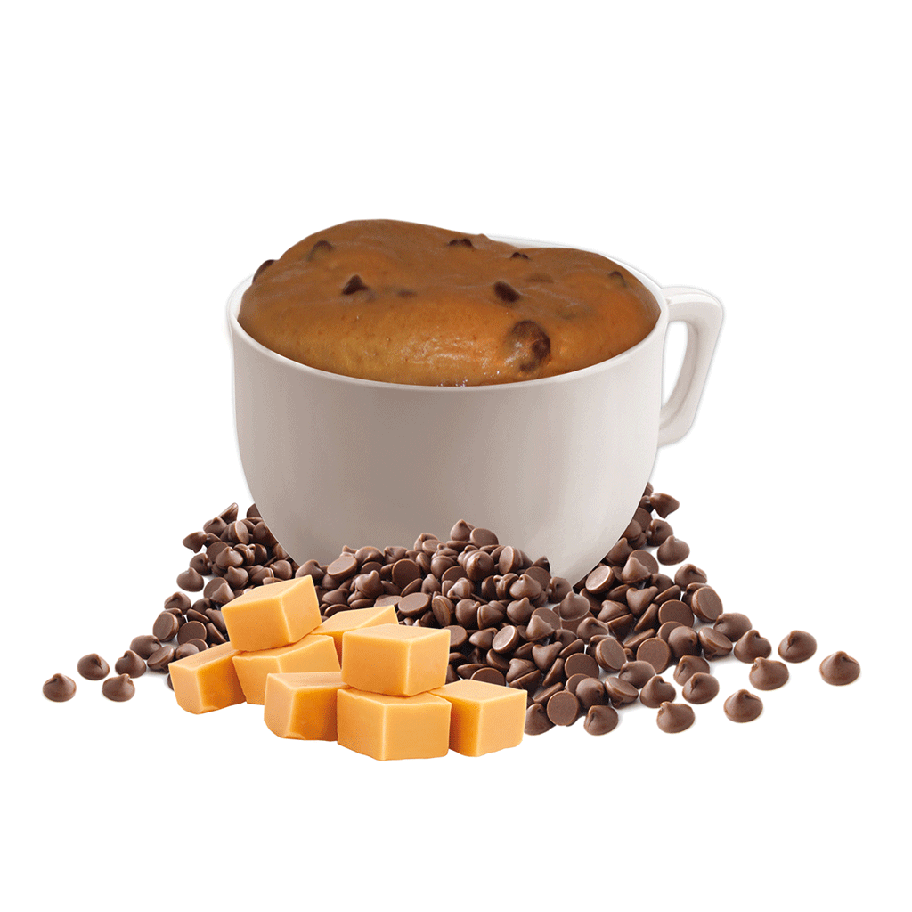 Chocolatey Caramel Mug Cake