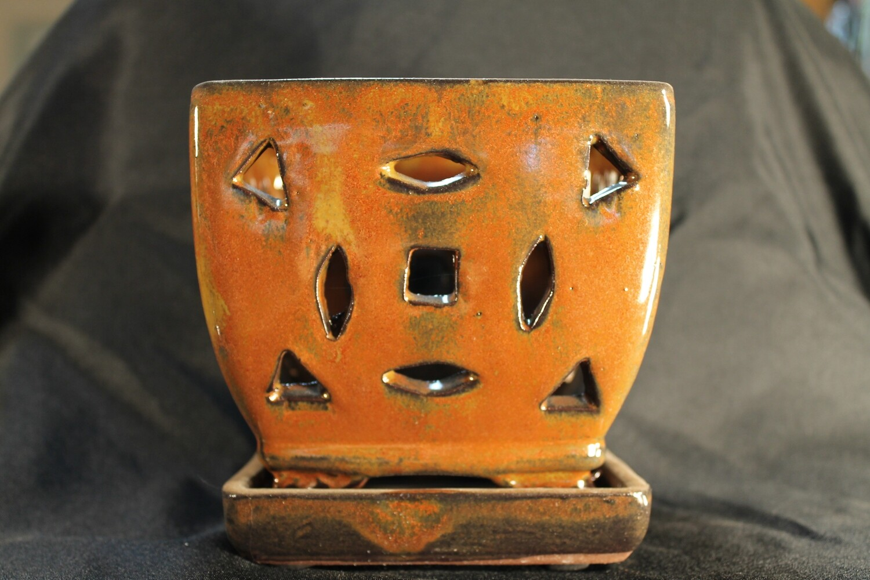 """5"""" Square Orchid Pot"""