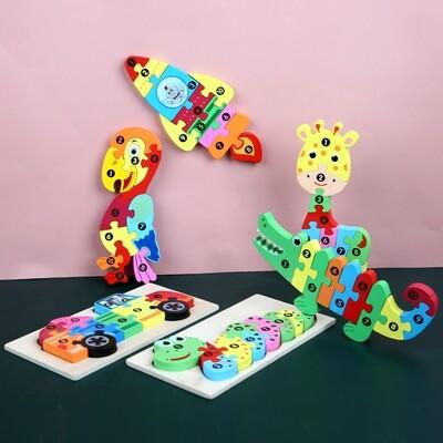 1-10數字配對3D拼圖(接受預訂)