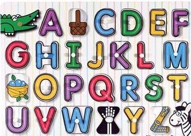 A-Z字母連Phonics拼音二合一手抓板(接受預訂)