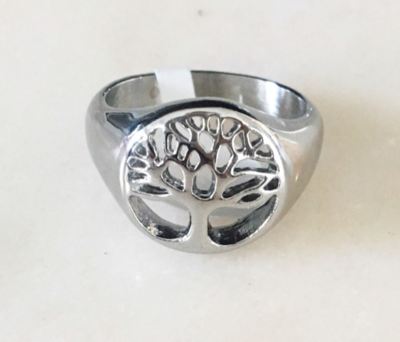 TREE OF LOVE RING - Silver