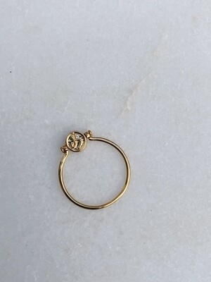 CLASSIC COLLECTION - TWO SIDED RING - SIZE 17/18