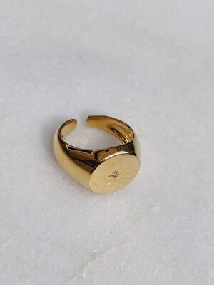 CLASSIC COLLECTION - FALLING STAR RING - ADJUSTABLE