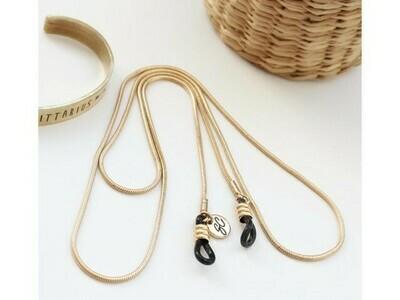 Delicate Snake Sunglasses Chain - Gold & Silver ★  Sunny Cords