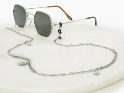 Shelly Silver Sunglasses Chain  ★ Sunny Cords