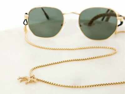 Jaguar Style Gold, Silver & Rosé Gold Sunglasses Chain ★ Sunny Cords