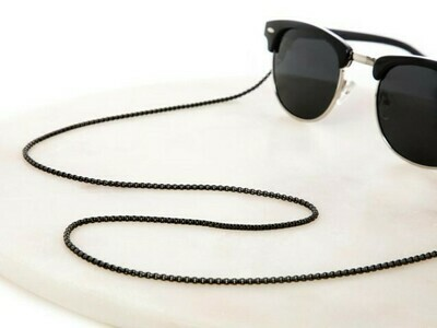 UNISEX Mister Black Medium Sunglasses Chain ★ Sunny Cords