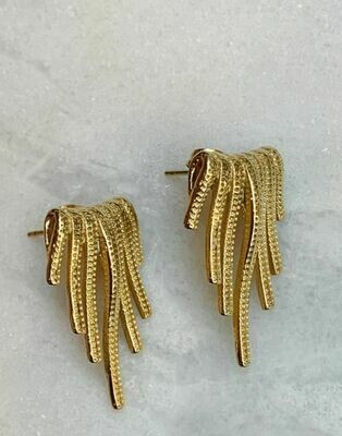 HANGING STUDS - GOLD & SILVER