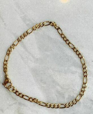VINTAGE BRACELET - GOLD & SILVER