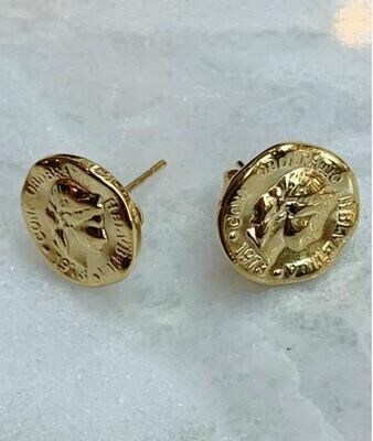 COIN STUDS - GOLD & SILVER