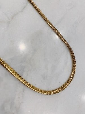OLD SCHOOL CHAIN NECKLACE - GOLD & SILVER