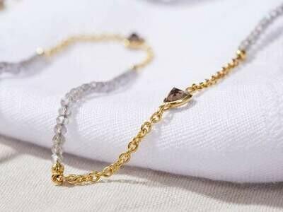 Night Labradorite - Gold Sunglasses Chains - 24k gold plated - Stones of Spiritual Power