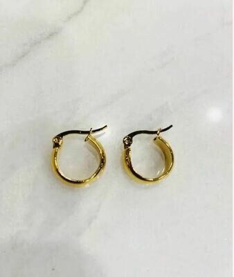 CLASSIC HOOPS - GOLD & SILVER