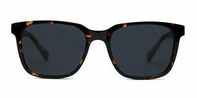 Carter Sunglasses Unisex -  Maple Tortoise - Baxter Blue