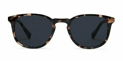 Lane Sunglasses Unisex - Quartz Tortoise  - Baxter Blue