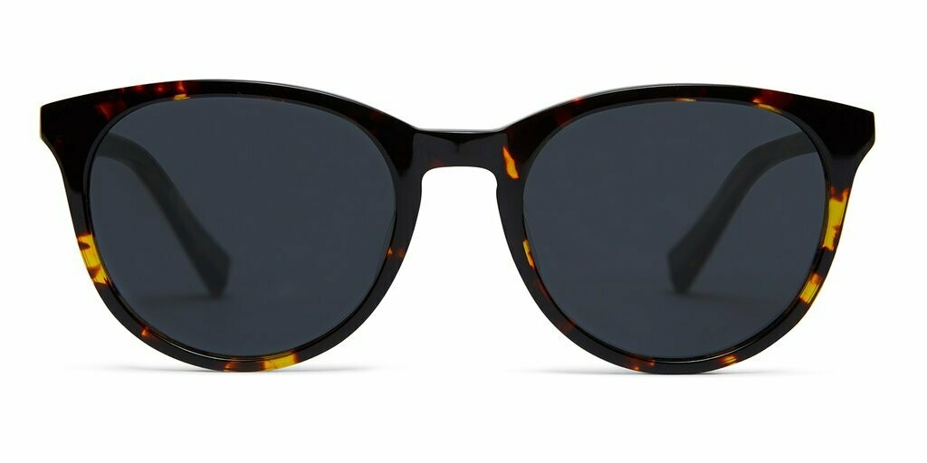 Lola Sunglasses Unisex- Maple Tortoise - Baxter Blue
