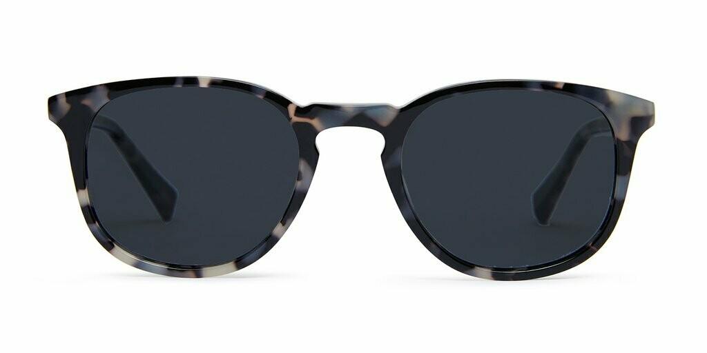 Lane Sunglasses Unisex - Graphite Tortoise  - Baxter Blue