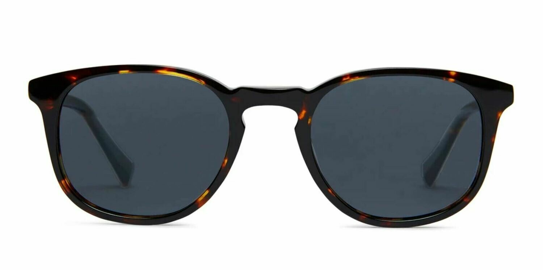 Lane Sunglasses Unisex - Maple Tortoise - Baxter Blue