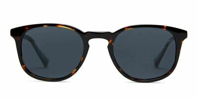 Lane Sunglasses Unisex - Maple Tortoise - Baxter Blue