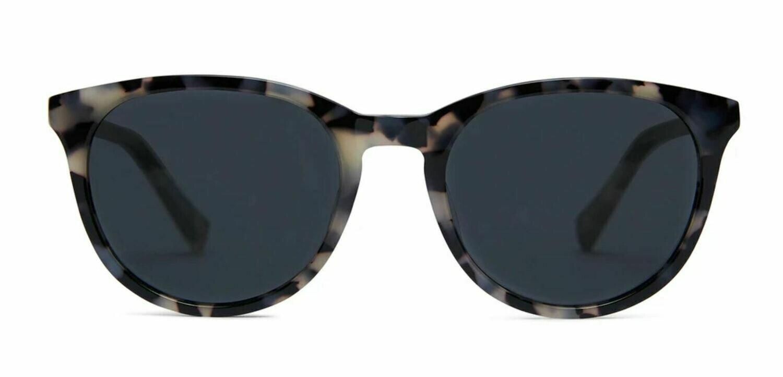 Lola Sunglasses Unisex- Graphite Tortoise - Baxter Blue