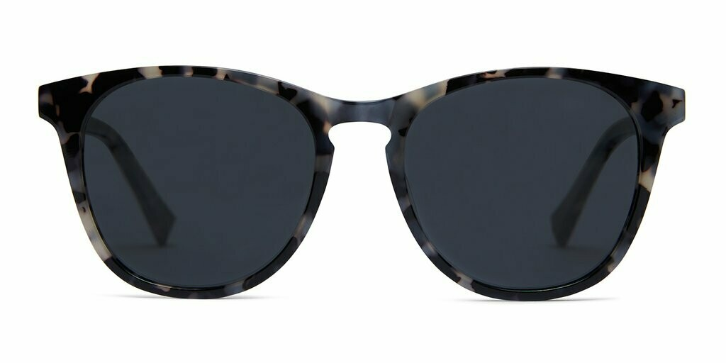 Nat Sunglasses Unisex- Graphite Tortoise - Baxter Blue