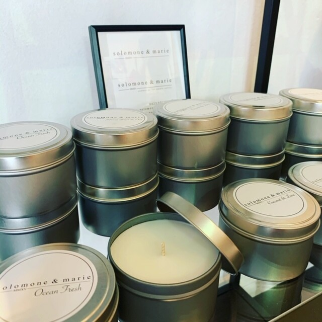 Fragranced Candles - Solomone & Marie
