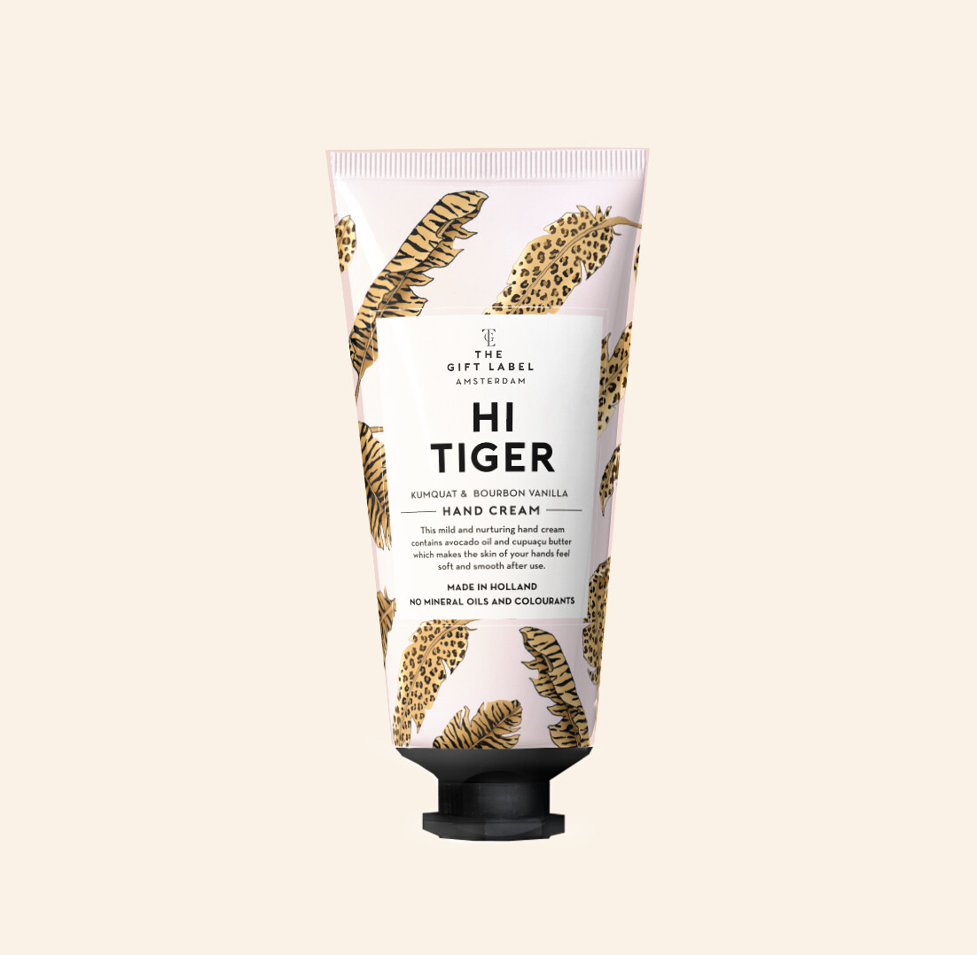 Hi Tiger Hand Cream Tube - The Gift Label