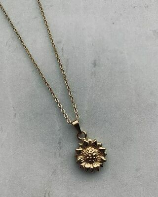 LOUISE NECKLACE - GOLD & SILVER