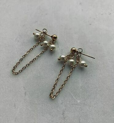 PEGGY EARRINGS GOLD