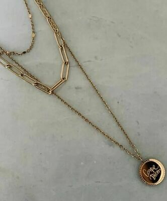 LILLY NECKLACE GOLD