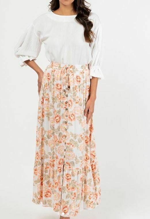 Adele Skirt - White Closet