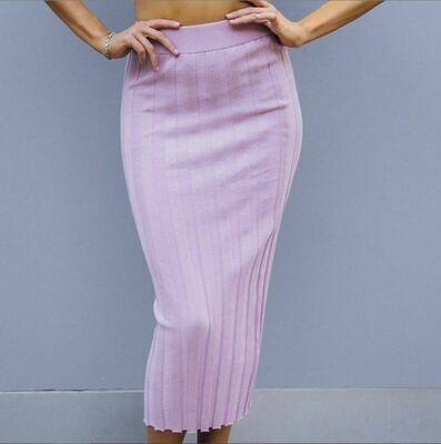 Lavender Woven Skirt - Paper Heart
