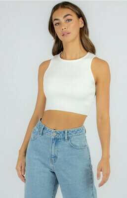 Fitted Racer Knit Tank - Style State