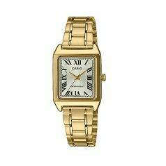 Casio Analogue Watch Gold