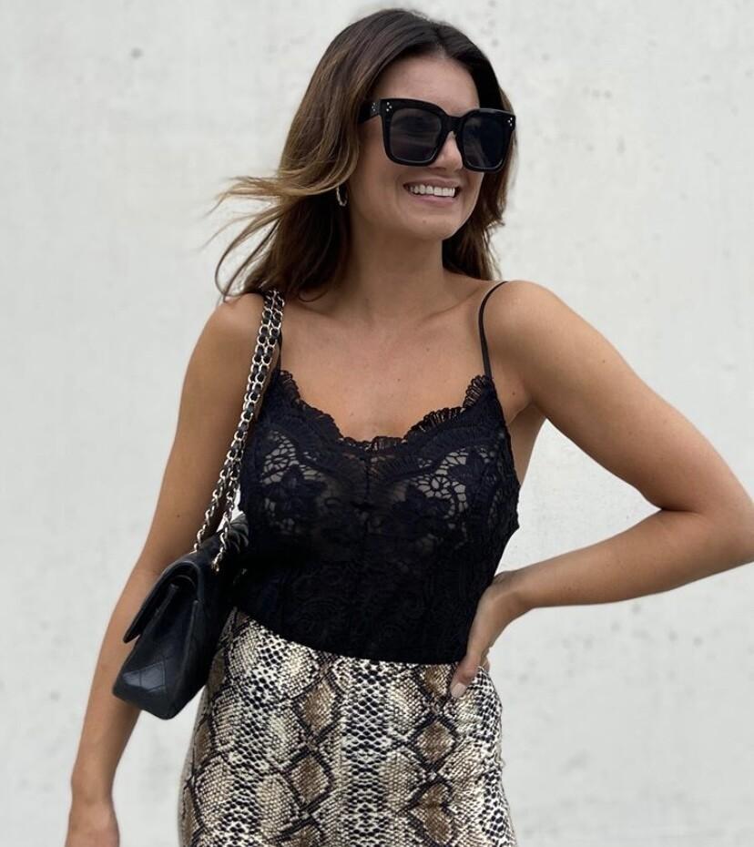 Lace Body Black - Drole De Copine Paris