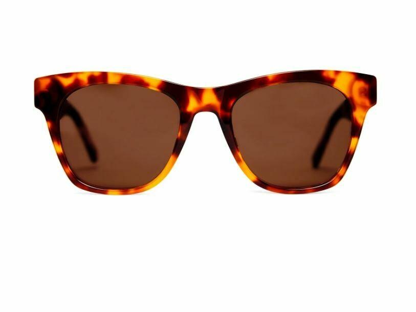 Georgie Sunglasses - Amber - Baxter Blue