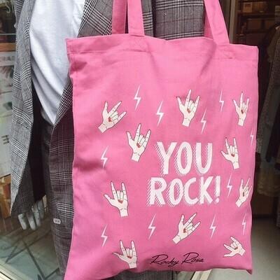 YOU ROCK CANVAS BAG