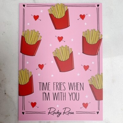 Time fries card