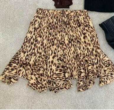Light Panther Skirt - By Clara