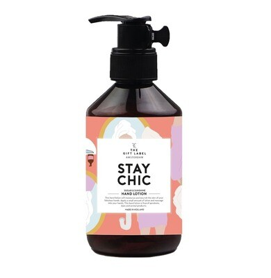 Stay Chic Hand Lotion - The Gift Label