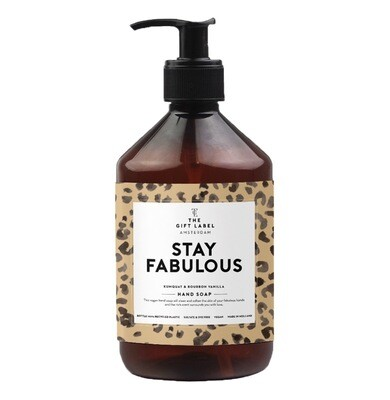 Stay Fabulous Hand Soap - The Gift Label