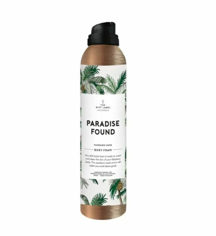 Paradise Found Body Foam - The Gift Label
