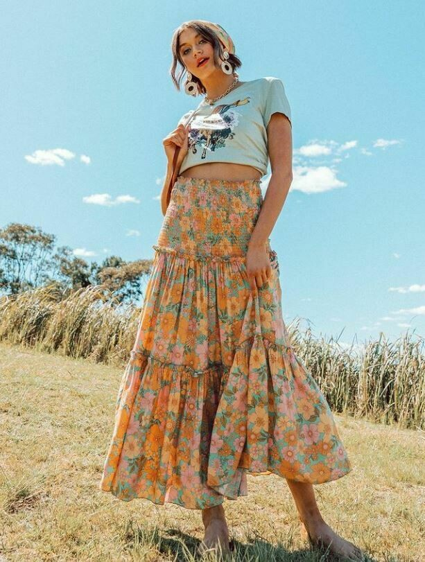 Audrey Sunset Skirt / Dress - Paper Heart
