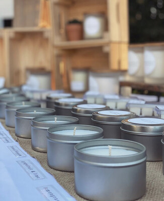 Coconut Soy Wax Candles - 170gr - 20hr - Solomone & Marie